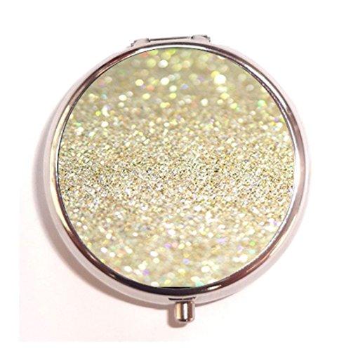 Bling Glitter Custom Fashion Pill Box Medicine Tablet Holder Organizer Case for Pocket or Purse