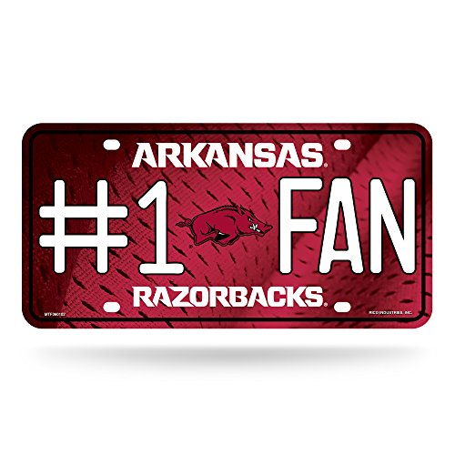 acks #1 Fan Metal License Plate Tag ()