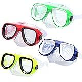 Kids Premium Snorkel Set Diving Scuba Swimming Mask Snorkel Glasses Set Anti Fog Goggles