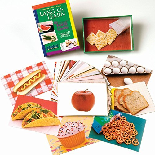 LangOLearn Cards, Food by Stages Publishing