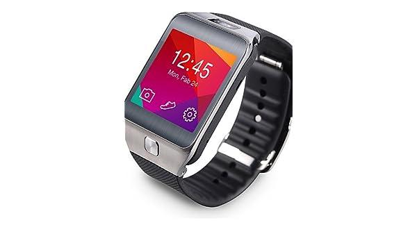 bluetooth g2 no.1 4.0 portátil cristal de zafiro SmartWatch / podómetro / frecuencia cardíaca /-perdió contra impermeable / a ios teléfono , black