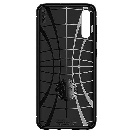 Spigen Rugged Armor Designed for Samsung Galaxy A70 Case (2019) - Matte Black