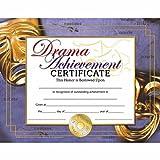 Drama Achievement Certificate - Matte Paper - Quantity 150