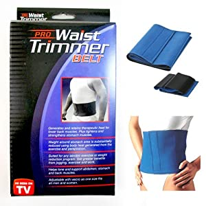 Amazon.com: Waist Trimmer Exercise Wrap Belt Slimming Burn