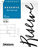 D\'Addario Reserve Bb Clarinet Reeds, Strength 4.0+, 10-pack