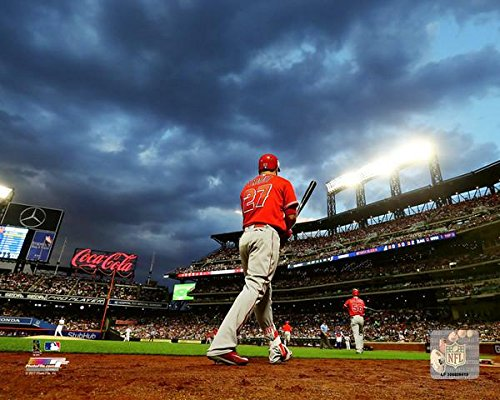 - Mike Trout Los Angeles Angels Action Photo (Size: 8