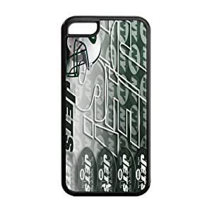 Custom New York Jets NFL Series Back Cover Case for iphone 5c iphone 5c JNipad iphone 5c-1116