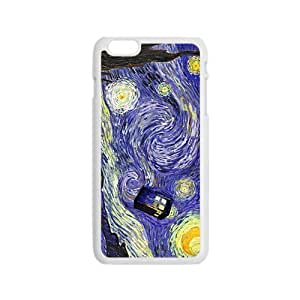 Doctor Starry night painting Who Cell Phone Case for Iphone 6 wangjiang maoyi