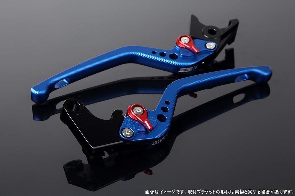 SSK アジャストレバー 3Dロング レバー本体カラー:マットブルー アジャスターカラー:マットレッド B07MX8YN4K