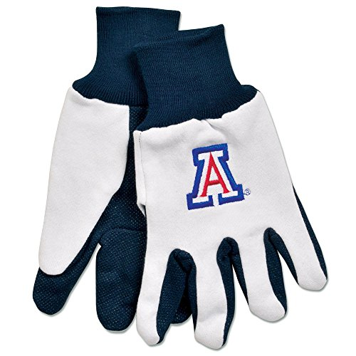 NCAA Arizona Wildcats Unisex Ncaancaa Two-Tone Gloves, White, Blue, One Size - Tone Blue Cats
