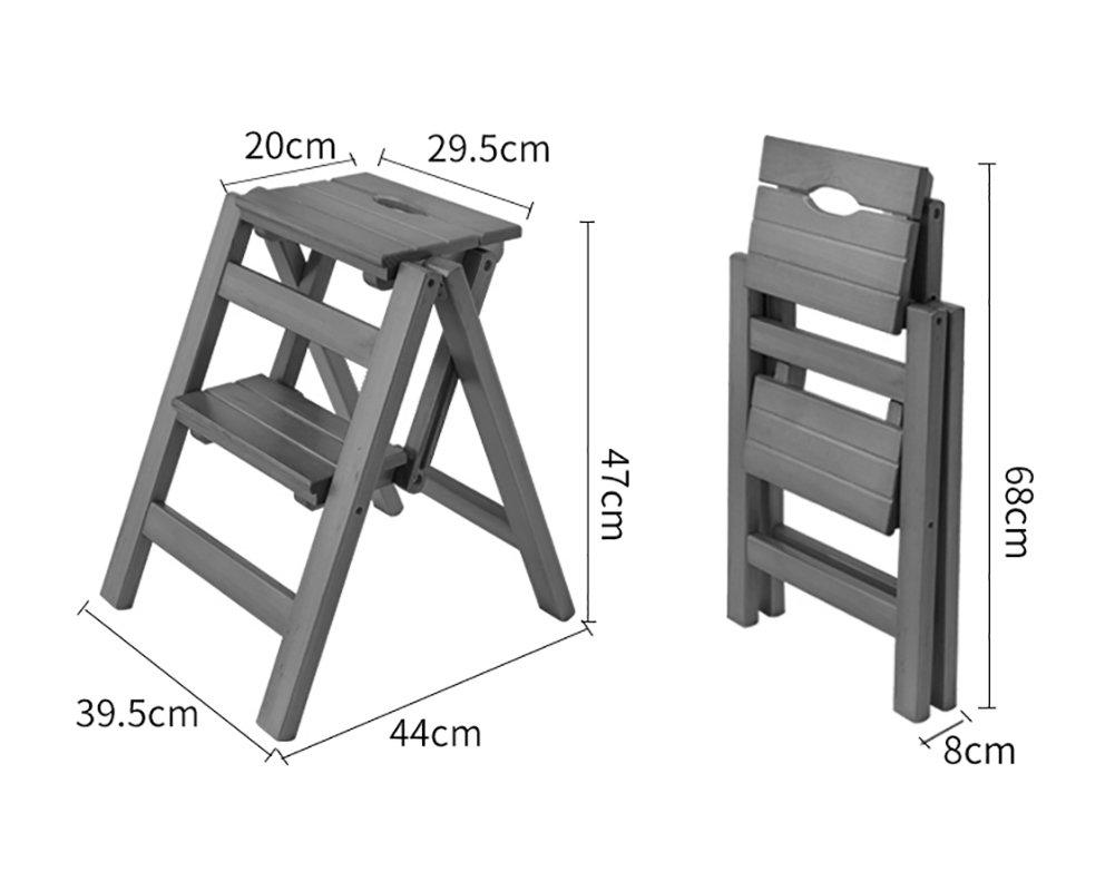 Tp teng peng scaletta sgabello pieghevole in in in legno