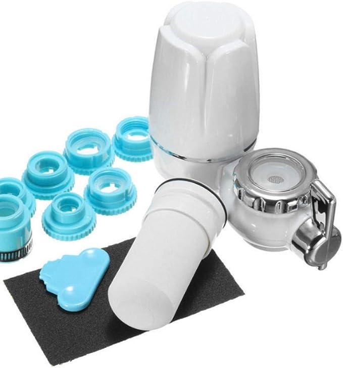 Grifo De Cocina Filtro De Agua Del Grifo Purificador De Agua Doméstico Purificación De Cerámica Lavable Calidad Del Agua Saludable-Filtro De Repuesto: Amazon.es: Hogar