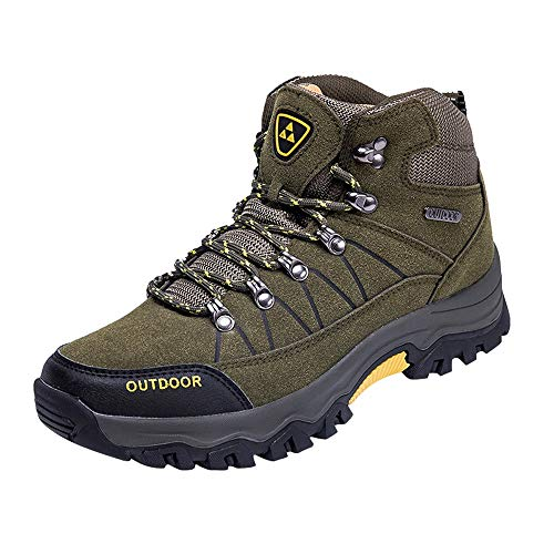- JJLIKER Men's New 2019 Ankle High Waterproof Hiking Boots Outdoor Lightweight Shoes Backpacking Trekking Trails Shoes