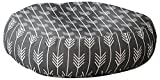 Deny Designs Holli Zollinger Arrows Grey Floor Pillow