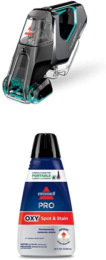 Bissell Pet Stain Eraser Powerbrush + Pro Oxy Spot & Stain