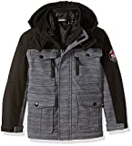 32 DEGREES Weatherproof Little Boys' Weatherproof Outerwear Jacket (More Styles Available), Systems Basic Grey Heather, 5/6