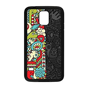 Samsung Galaxy S5 Cell Phone Case Black_Monstrous Sides Xsmpk