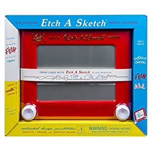 Etch A Sketch - Classic in 1960 Box - Red (Discontinued by manufacturer)