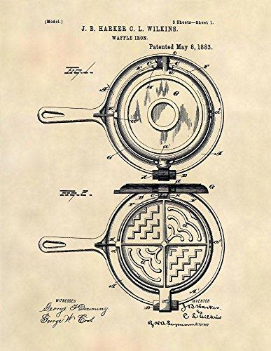 vintage waffle maker - 8