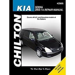 kia sedona chilton repair manual 2002 14 haynes publishing rh amazon com owners manual kia sedona 2006 service manual kia sedona