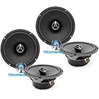 2 Sets of Hertz ECX-165.5 6.5 420W 2-Way Coaxial Speakers