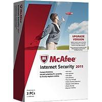 McAfee Internet Security  2011 Upgrade Edition, 3 User (PC)