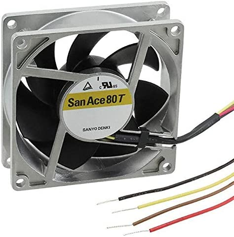 9GT0824P4S001 FAN 80X25MM 24VDC RBLS TACH PWM Pack of 1