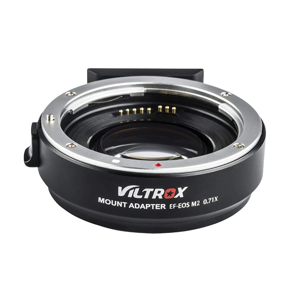 VILTROX EF-EOS M2 Auto Focus Lens Mount Adapter Ring 0.71X Focal Lenth Multiplier USB Upgrade for Canon EF Series Lens to EOS EF-M Mirrorless Camera for Canon EOS M/ M2/ M3/ M5/ M6/ M10/ M50/ M100 by VILTROX (Image #8)
