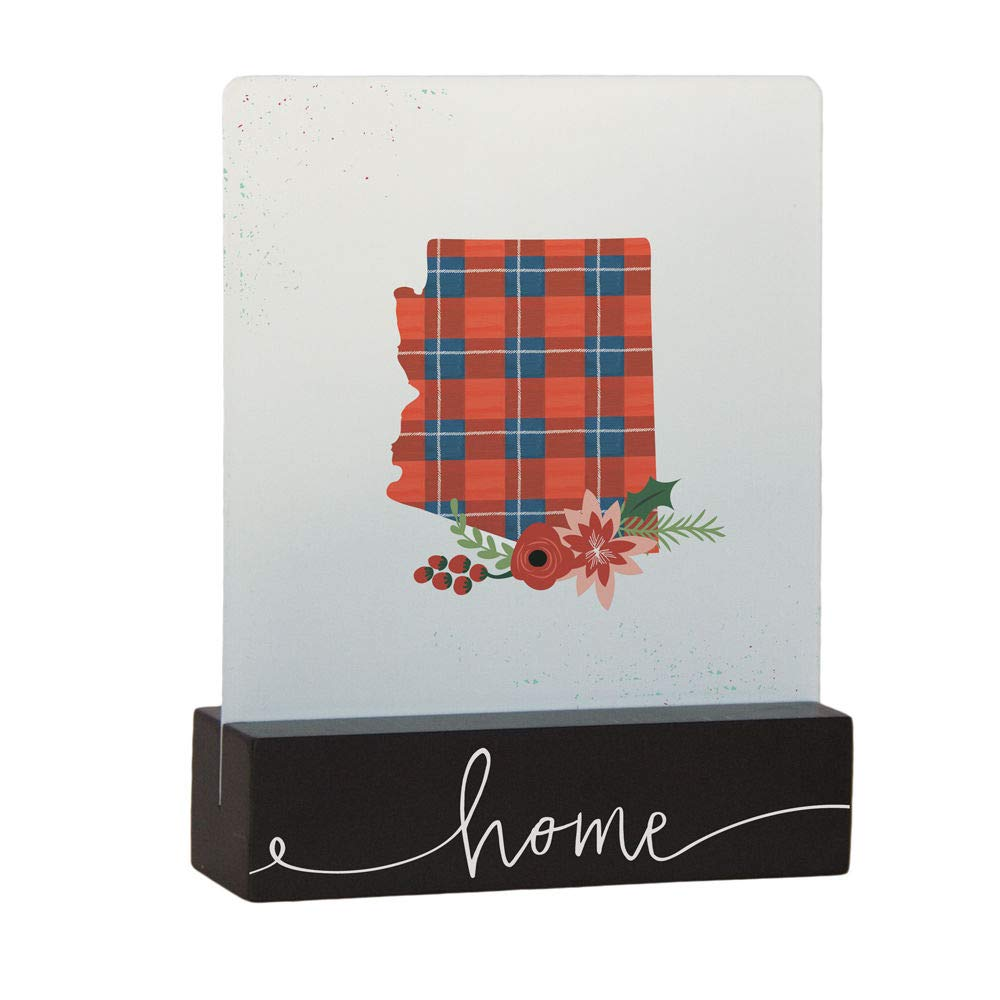 Sincere Surroundings BSET110 Plaid State White
