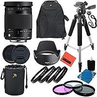 Sigma 18-300mm F3.5-6.3 DC Macro OS HSM (C) for Nikon (DX) Cameras - Professional Kit