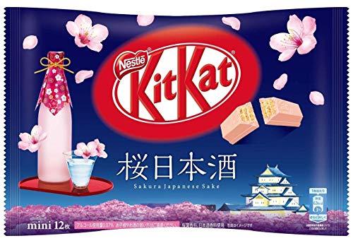Kitkat Kit kat Nestle Japanese Sakura Sake NIHONSHU 12piece chocolate (Pepsi Japanese)