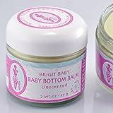 Brigit True Organics- Baby Bottom Balm, 2.0 oz. (95% ORGANIC), Health Care Stuffs
