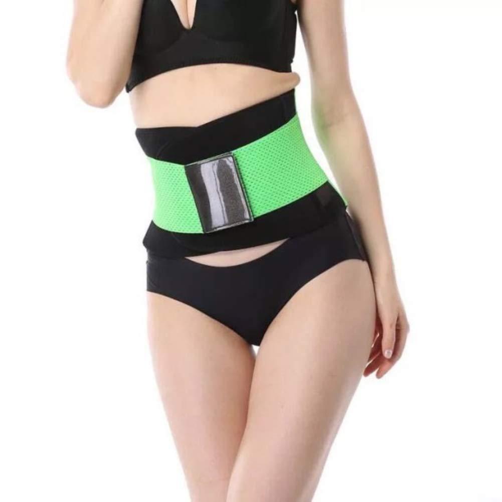 Waist Trimmer Belt for Woman and Man, Adjustable Fat Burner Postpartum Support Slimming Belt twbbt