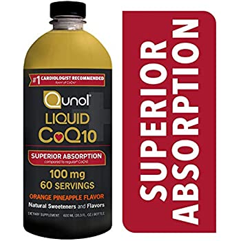 Amazon.com: Qunol Liquid CoQ10 100mg, Superior Absorption ...