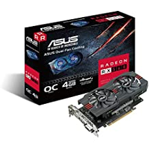 ASUS Radeon RX 560 14CU 4GB EVO OC Edition  GDDR5 DP HDMI DVI AMD Graphics Card (RX560-O4G-EVO)
