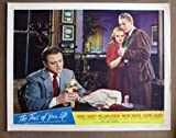 CL47 Time Of Your Life JAMES CAGNEY 1947 Lobby Card. This is an original lobby card; not a dvd or video. Lobby cards were used to advertise film playing at theater and they measure 11 by 14 inches.
