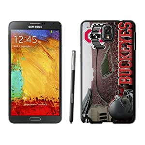 Ncaa Big Ten Conference Football Ohio State Buckeyes 24 Black Case for Samsung Note 3,Prefectly fit and directly access all the features