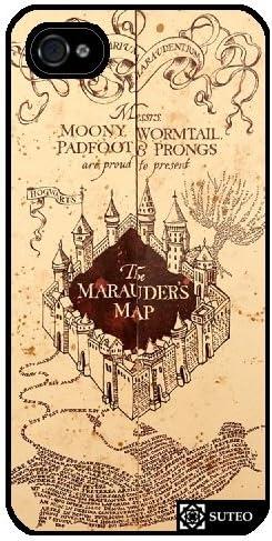 Coque Iphone 5/5S – Harry Potter – Carte du Maraudeur - ref 1262
