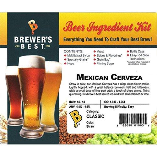 Brewer's Best COMINHKPR140116 Home Brew Beer Ingredient Kit, 5 gal