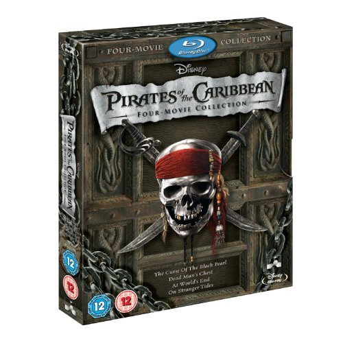 (Pirates of the Caribbean: Four-Movie Collection [Blu-ray])