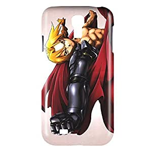 Fullmetal Alchemist Hagane no Renkinjutsushi Edward Elric Snap on Plastic Case Cover Compatible with Samsung Galaxy S4 GS4