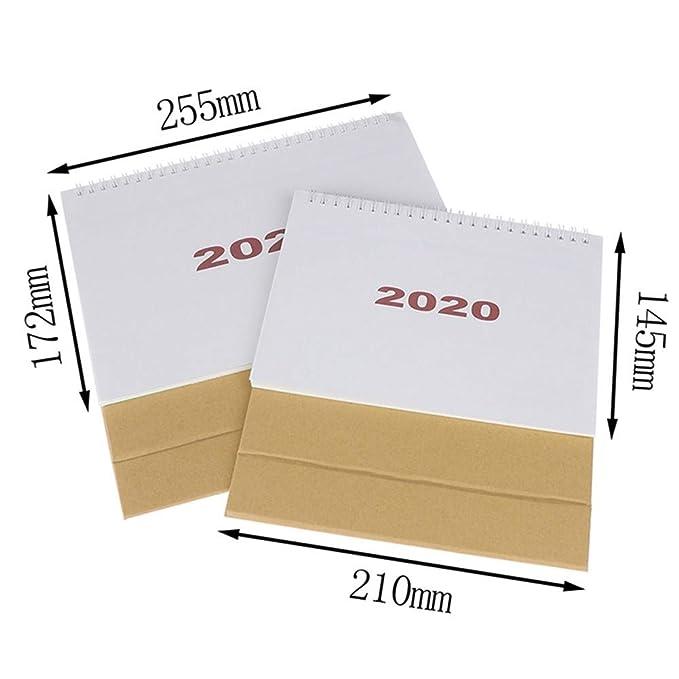 Calendario Calendarios de Escritorio Calendarios d Agenda 2020 ...