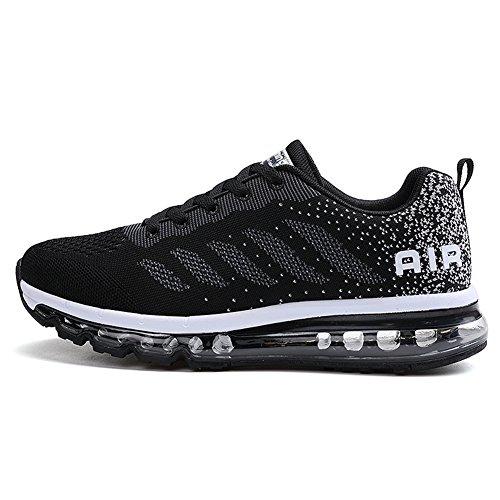 Fexkean Men Women Running Shoes Sports Trainers Walking Fitness Gym sneakers?BK42