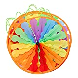 Jili Online 10m Fordable Rainbow Colorful Windmill String Whirligig Wheel Lawn Yard Party Decor