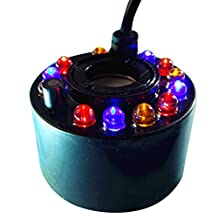 Denshine® 12 LED Light Ultrasonic Mist Maker Air Humidifer Fogger Water Fountain Pond Atomizer