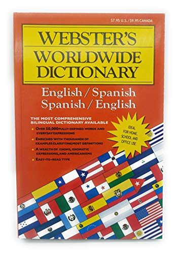 - WEBSTER Jumbo Spanish-English Dictionary