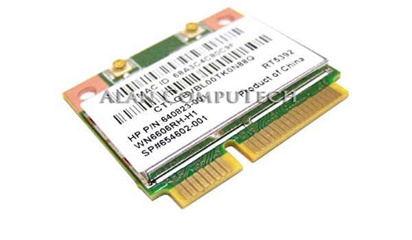 Amazon com: HP 654602-001 802 11b/g/n WLAN PCIe card