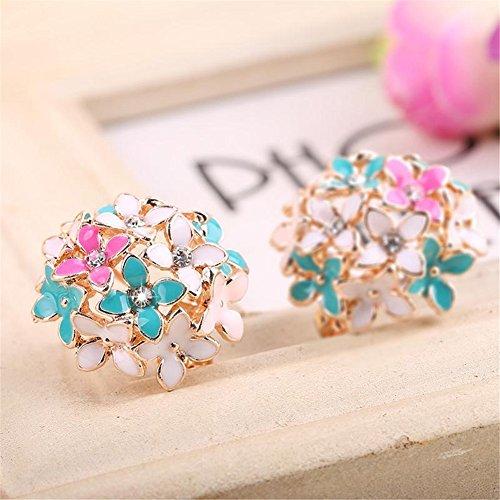 Banggood Charming Rhinestone Earrings Ornaments