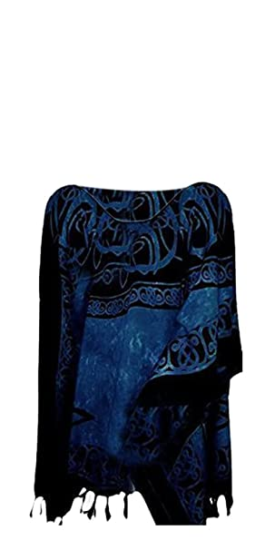 Cool Kaftans New Roman Summer Top Tunic Poncho Celtic Shirt Beach