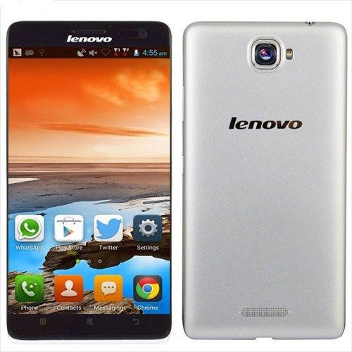 Lenovo S856 Smartphone 4G LTE 5.5 Inch MSM8926 Quad Core Android 4.4 (White)
